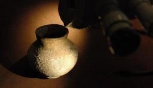 Expertise d'un objet en terre cuite. Methode d'authentification: stéréoscopie