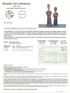 certificat de datation c14