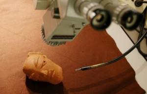 Authentification d'objets d'art en terre cuite par stéréoscopie